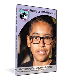 Moving Up to Middle School Film & Workbook Vol. 1