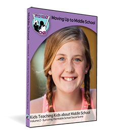 Moving Up to Middle School Film & Workbook Vol. 2